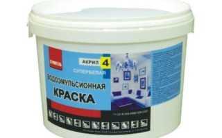 Водоэмульсионная краска для потолка: как правильно наносить и снимать
