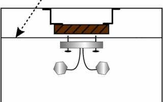 Как сделать отверстие в натяжном потолке: устройство светильников и коммуникаций