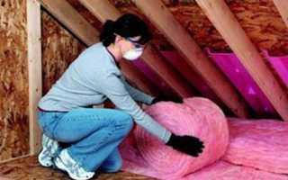 Укладка утеплителя на потолок: руководство по монтажу