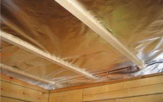 Утеплитель для потолка бани: основные виды и варианты устройства