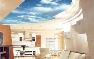 Потолки 3D: технологии создания и варианты дизайна