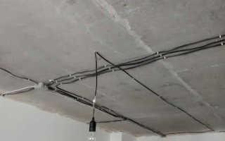 Проводка по потолку: крепление электропроводки, как провести открытую проводку своими руками, прокладка проводов по потолку, как скрыть, спрятать проводку