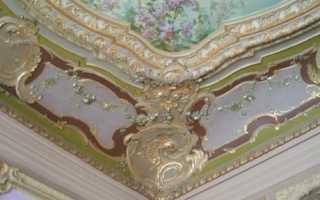 Потолок в стиле барокко: черты стиля и варианты дизайнерских решений