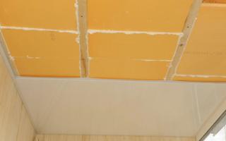 Как утеплить потолок на балконе: секреты качественной теплоизоляции