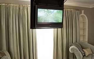 Потолочное крепление для телевизора: как выбрать и установить