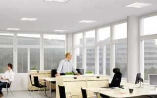 Светильники для офиса потолочные: как правильно выбрать лампы для open-space