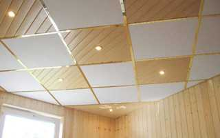 Плитка для подвесного потолка: плиточный подвесной потолок, размер потолочной плитки для навесного потолка