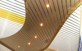 Реечные потолки: виды потолков из реечных панелей, из чего состоит система, что такое этот материал