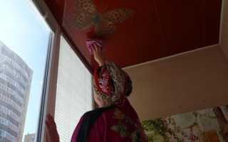 Как мыть натяжные потолки и каким средством лучше пользоваться