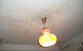 Как очистить потолок от побелки: простые и эффективные методы