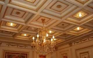 Потолок в зале: как сделать красиво и стильно
