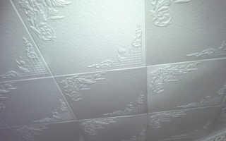 Клеим пенопласт на потолок: особенности этапы работы