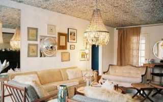 Потолок в гостиной: как оформить эффектно и красиво