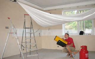 Как натягивают натяжные потолки: как самому натянуть правильно, как натягивать самостоятельно, своими руками