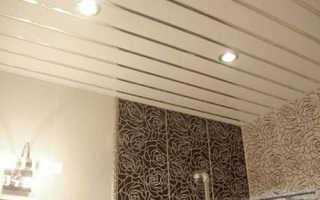Подвесные потолки в ванну: разнообразие выбора конструкций