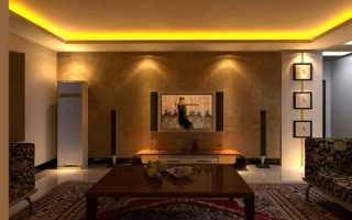 Желтый потолок в интерьере: эффект солнечного света в помещении