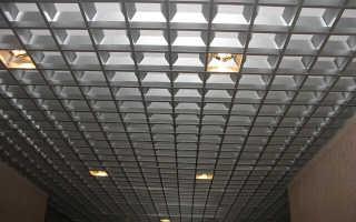 Растровый потолок: подвесной потолок квадратами, как называется потолок из квадратов, как монтировать