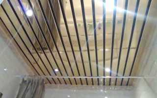 Потолочная рейка: плюсы и минусы алюминиевых и деревянных реек