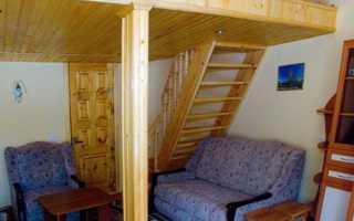 Высокие потолки – второй этаж в обычной квартире