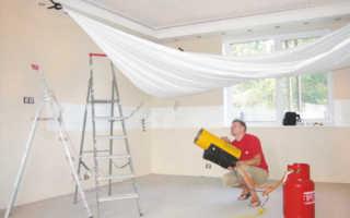 Расстояние от натяжного потолка до потолка: влияющие факторы