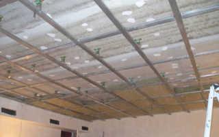 Звукоизоляция потолка: монтаж своими руками