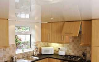 Глянцевые натяжные потолки: особенности конструкции и применяемых материалов