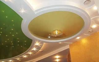 Светильники для гипсокартонных потолков: точечные, встраиваемые потолочные лампы в потолок из гипсокартона, люстры, какие выбрать, как правильно установить