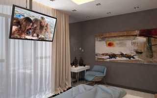 Крепление телевизора к потолку: виды кронштейнов + как подвесить своими руками