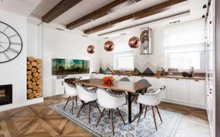 Декоративные балки на потолок своими руками + фото в интерьере