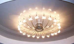 Установка люстры на натяжной потолок: как закрепить, повесить светильник, как установить люстру своими руками, площадка под люстру