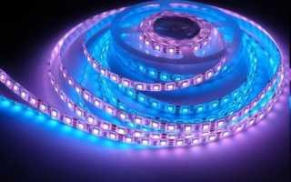 Светодиодная лента для подсветки потолка: монтаж своими руками