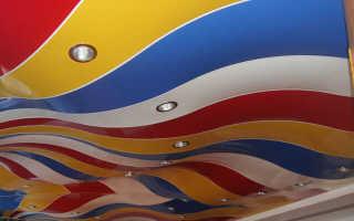 Какие бывают натяжные потолки: виды материалов, разновидности полотен