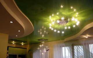 Зеленый потолок в интерьере – лучшие идеи для вашего дома