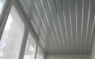 Как сделать потолок на балконе своими руками: материалы и технологии