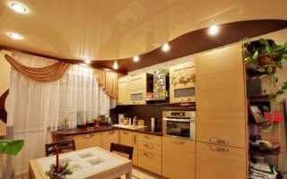 Дизайн потолка на кухне: виды и нестандартные решения