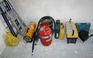 Инструмент для натяжных потолков: что нужно для монтажа, какой инструмент нужен для установки