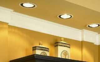 Встроенные потолочные светильники: описание приборов и нюансы монтажа