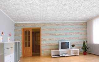 Потолочная плитка без швов: эффектная отделка