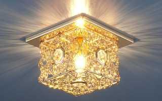 Лампы для натяжных потолков- галогеновые, энергосберегающие или светодиодные
