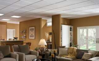 Виды подвесных потолков: какие бывают типы конструкций и материалов