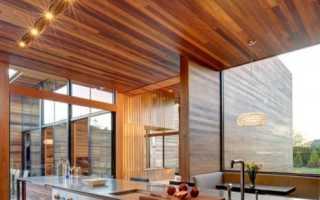 Потолки из дерева: натуральная порода и имитация современными материалами