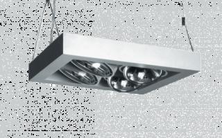 Офисные потолочные светильники – выбор системы освещения для рабочего места