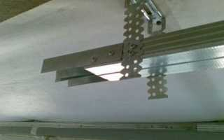 Крепеж гипсокартона к потолку: порядок и тонкости работы
