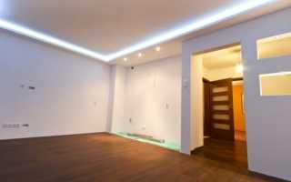 Потолки из гипсокартона в зале: преимущества, дизайн, принципы установки