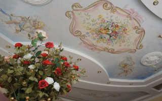 Роспись потолков: художественная роспись, расписной потолок, классика, узор, как раскрасить потолок
