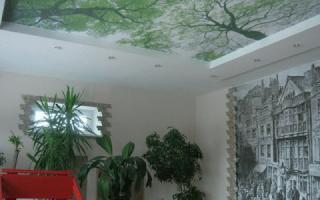 Натяжные потолки без нагрева: монтаж своими руками
