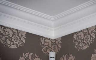 Гипсовый потолочный плинтус: потолочные карнизы из гипса, гипсовые плинтуса на потолок