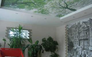 Тканевые натяжные потолки: достоинства и недостатки технологии