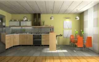 Панели на потолок на кухне: делаем ремонт самостоятельно
