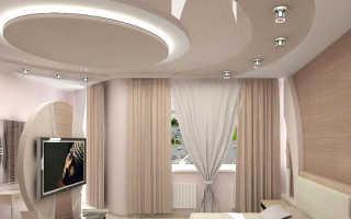 Какой потолок сделать в спальне: чем лучше отделать, какие потолки можно сделать своими руками